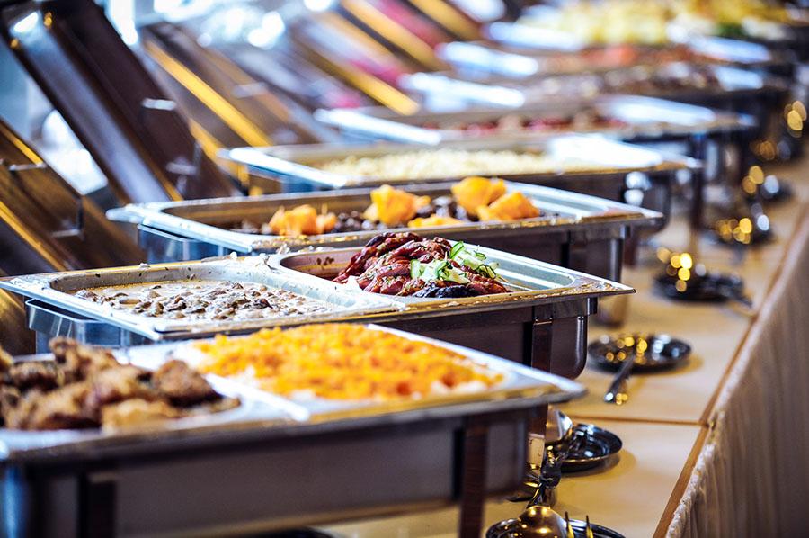 Noleggio Vassoi E Piatti Da Portata Per Catering | L'Evento